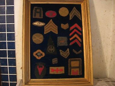 US WW I patches