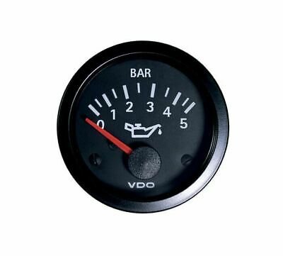 VDO Oil Pressure Gauge 0-5 Bar Range Analogue Mechnical For VW 155919551