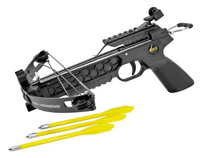 Pitbull Compound Pistol Crossbow 28 lb Hunting Fishing Camping Hiking Outdoors