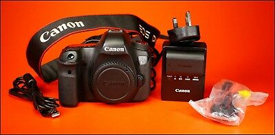 Canon EOS 6D 20MP Digital SLR Camera Body, Battery & Charger  & Strap