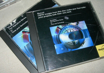 PhotoDisc Signature Series 21 Time and Technology (Stock Photo) 100 hi res 2 CDs