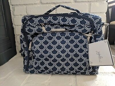 Brand New Ju-Ju-Be BFF Coastal Collection Diaper Bag Backpack in Newport color