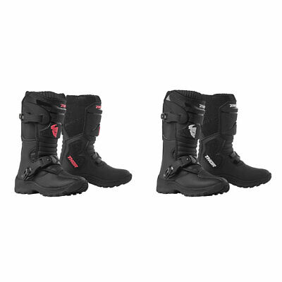 2019 Thor Youth Mini Blitz XP Motocross Offroad Dirt Boots - Pick Size & Color
