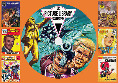 UK Picture Library Comic Collection On DVD Rom
