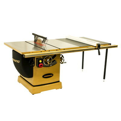 "Powermatic 3000B table saw 7.5HP 3PH 230/460v 50"" Rip Fence PM375350K FREE SHIP"