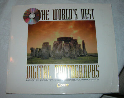 Corel The World's Best Digital Photographs (Stock Photo) 120 images book and CD
