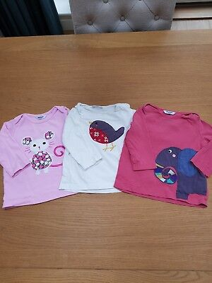 Baby Boden Long Sleeve girls Tops 6-12 Months