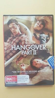 The Hangover : Part 2 [ Region 4 DVD ] BRAND NEW & SEALED, Free Next Day Post