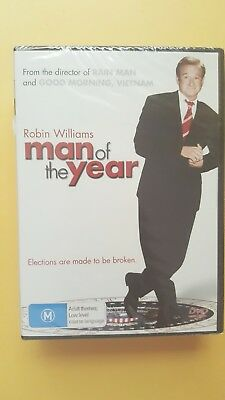 Man Of The Year [ Region 4 DVD ] BRAND NEW & SEALED, Free Next Day Post from NSW
