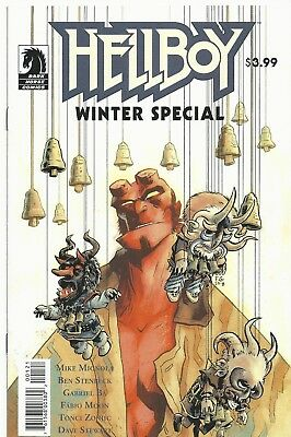 Hellboy Winter SPecial 2018 Cover B Variant First Print 2018