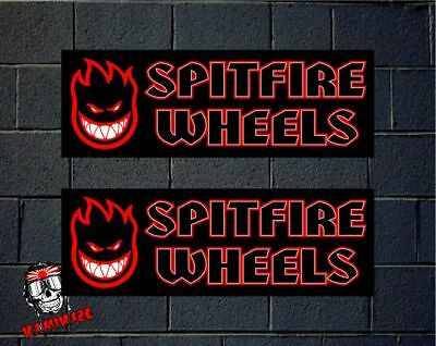 Pegatina Sticker Autocollant Adesivi Aufkleber Decal Spitfire  Wheels Laminated