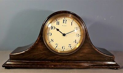 Antique French Bayard 8 Day Mantle Clock, Good working order