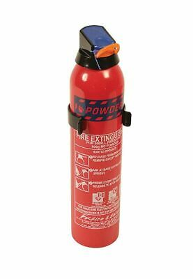 . Fire Extinguisher B C & Electrical Fires Dry Powder 900g with mounting bracket