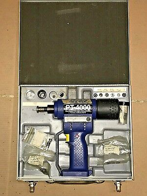 Fsi Pt-4000 Cordless Blind Riveter, Includes Extra Parts And Metal Clasping Case