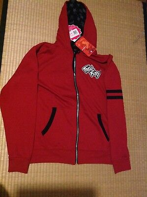 SNK NEO GEO Fatal Fury Terry Bogard Sweat Zip Large Size