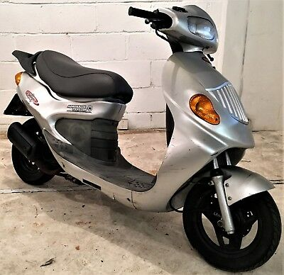 2004 Daelim Message II 50cc Automatic Scooter, MOT July 2019, Spares Or Repair