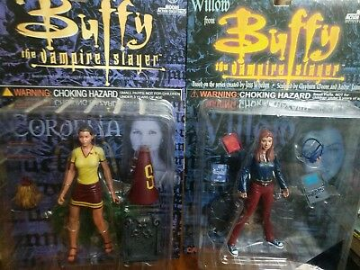 Buffy the Vampire Slayer, Cordelia + Willow Action Figure Collectibles MOC