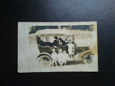 Model T Real Photo * Unposted, Addressed To St. Elmo, Tennessee