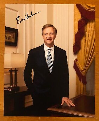 """BILL HASLAM, 100% AUTHENTIC AUTOGRAPHED 8"""" x 10""""  PHOTO, TENNESSEE GOVERNOR"""