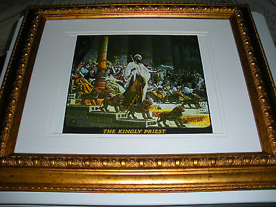 """C.T. Russell Photo-Drama of Creation Photo """"Kingly Priest"""" Watchtower IBSA"""