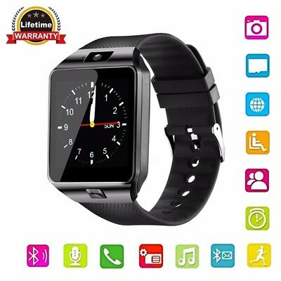 DZ09 Bluetooth Smart Wrist Watch Touch Screen Phone Mate for Android IOS Phone
