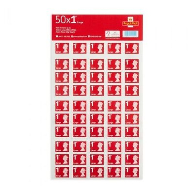 Royal Mail 50 large letter stamps