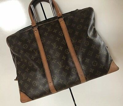 b7afb649e11dc Original Louis Vuitton Porte Documents Aktentasche Notebook Tasche Lv  Monogramm