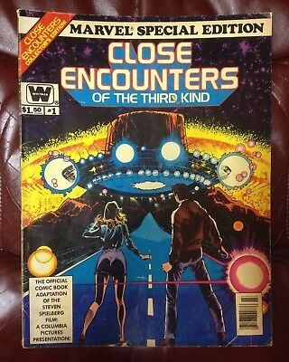 MARVEL SPECIAL EDITION CLOSE ENCOUNTERS OF THE THIRD KIND #1 1978 10x13 inches