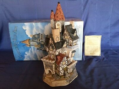 David Winter ~ CASTLE IN THE AIR ~ 1991 ~ Original Box & COA