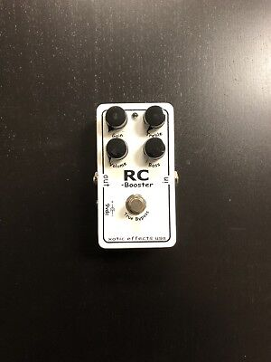Xotic RC Booster Distortion Guitar Effect Pedal
