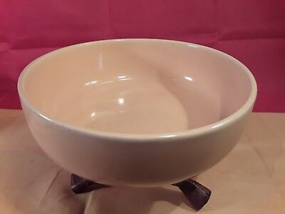 """Antique Rare Old Vintage 1930s BAUER YELLOW 7""""x2-5/16"""" SOUP/CEREAL BOWL AMERICAN"""