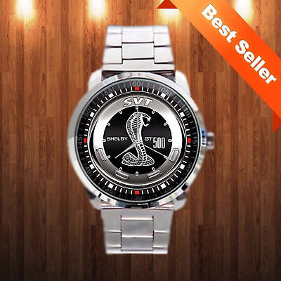 Rare Fords Mustang Shelby Cobra GT500KR Logo Sport Watches