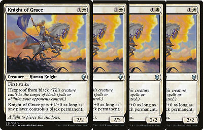 4X NM Knight of Grace Dominaria MTG Magic The Gathering