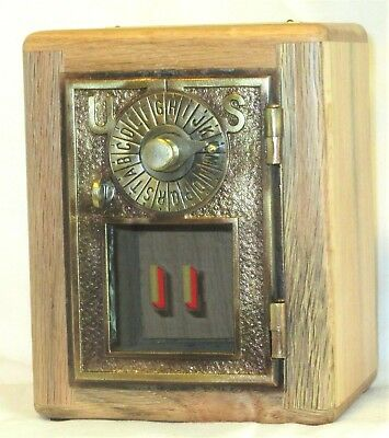 Post Office Door Bank #11-Dial&Point Door-1896  RARE Reclaimed Oak
