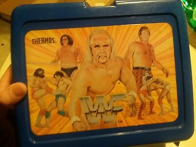 Vintage Wwf Hulk Hogan Andre The Giant Lunchbox No Thermos!!!