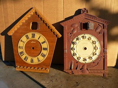 2 Face Plates For Ussr Soviet Russian Majak Маяк Cuckoo Wall Clock