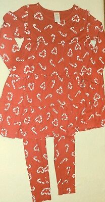 Kids' Clothing, Shoes & Accs Gymboree Cozy Cutie Candy Cane Red Dress 4