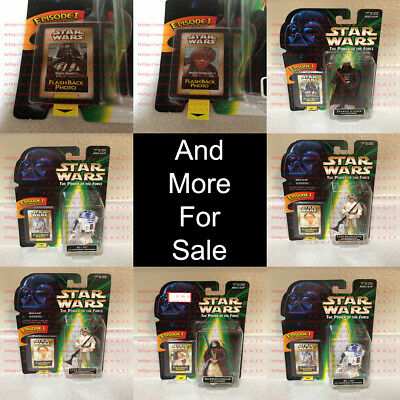Star Wars The Power of the Force TPOTF Flashback Photo Kenner 1996-2010 OBO