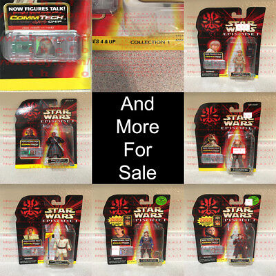Star Wars Episode I Collection 1 CommTech Chip Hasbro 1996-2010 OBO