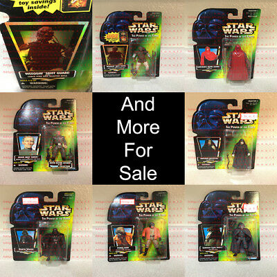 Star Wars The Power of the Force TPOTF Kenner 1996-2010 OBO