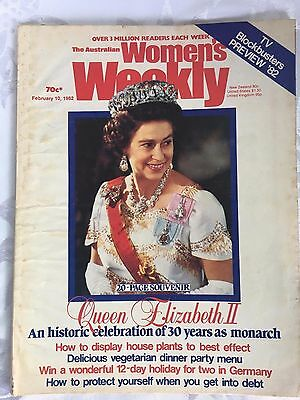 Royal Family - Women's Weekly - Queen Elizabeth - 30 Years As A Monarch - 1982