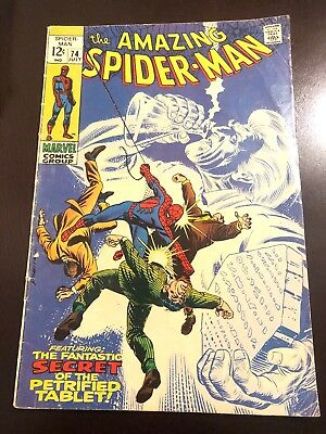 The Amazing Spider-Man #74 (Jul 1969, Marvel) Stan Lee Silver Age VG