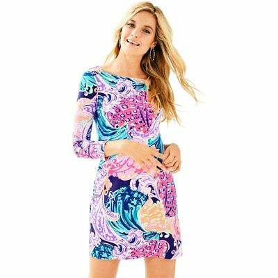 d0c6eb359a69e6 NWT Lilly Pulitzer UPF 50+ Sophie Dress 17412 Multi All That She Wants Size  L