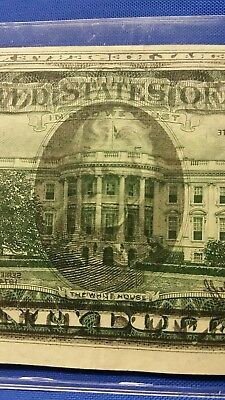 ERROR NOTE - 1974 $20 FRN WET INK TRANSFER - EXCELLENT condition!