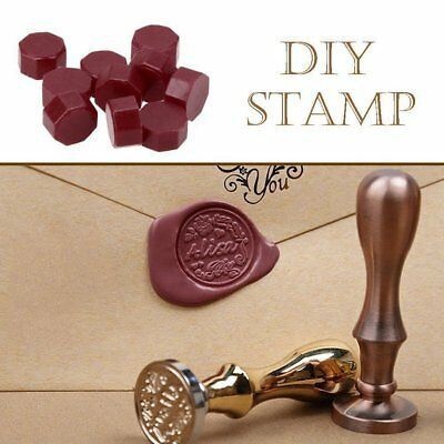 100pcs/Lot Retro Octagon Sealing Wax Beads Stamping Envelope Wax