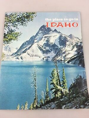 Tourist Brochure - Colour Brochure Of Idaho The Place To Go. - Possibly 1960's