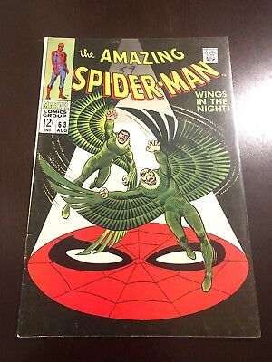 The Amazing Spider-Man #63 (Aug 1968, Marvel) VF Stan Lee Silver Age