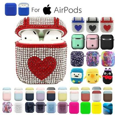 AirPods Silicone Case Cover Protective Skin for Apple Airpod Charging Case Lot