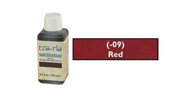 TANDY ECO-FLO WATERSTAIN 250ml - Red (2800-09) [WBL]