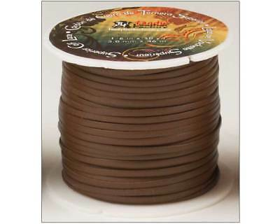 CALF LACE 1/8in x 50yds - Tan (5007-04) [WBL]